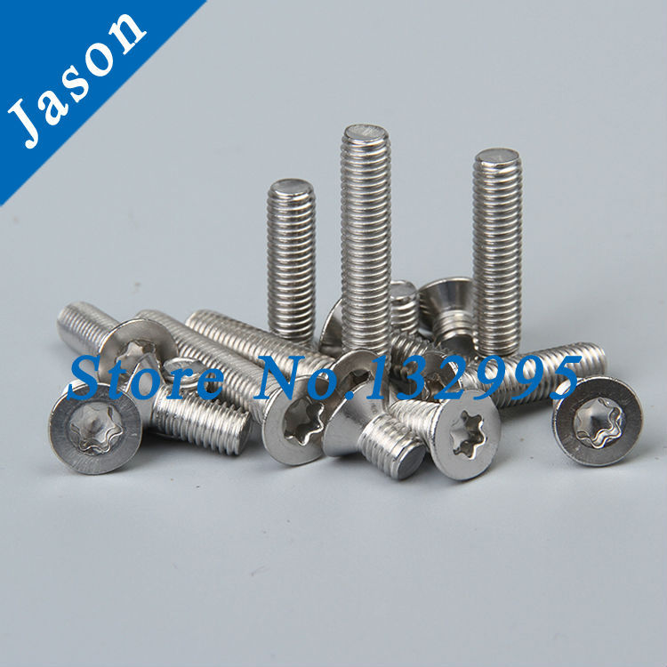 M8*16  Stainless Steel A2 ISO 14581 Flat Head Torx Screw (SUS 304 Torx Screw M8*L)<br><br>Aliexpress