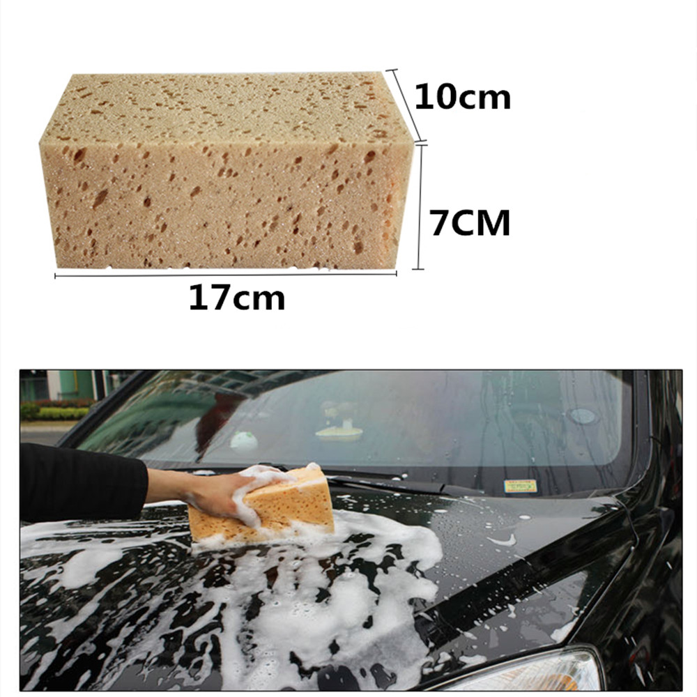 Car Washing Coral Sponge Block Honeycomb Design Soft and Durable Auto Washing Tool Home Office Toilet glass kitchen cleaning(China (Mainland))