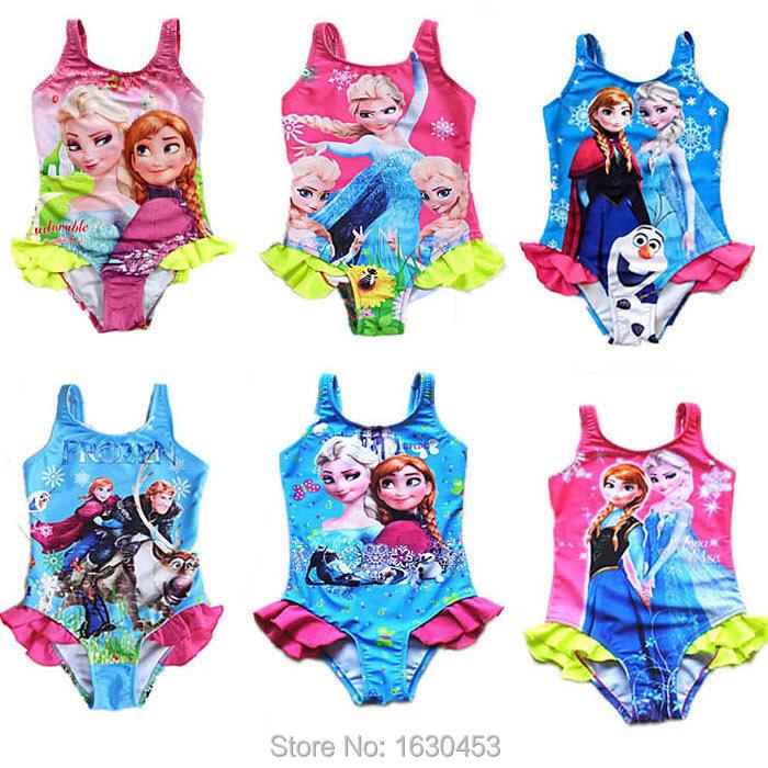Закрытый купальник для девочек 2015 girl swimsuit