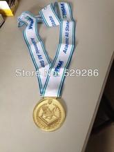 solid medal,customise medal,gold,single side medal(China (Mainland))