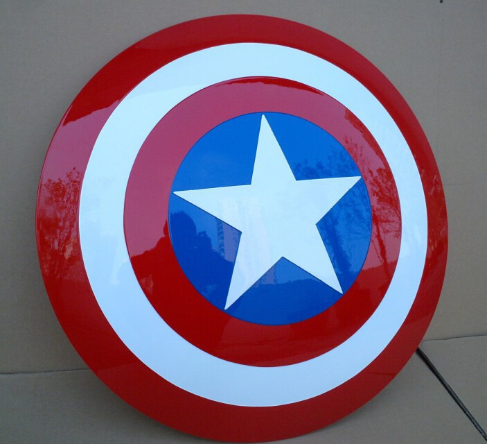 Hot 1:1 Size New Avengers Captain America Shield Replica ABS Engineering Plastics Model Figure Best Edition Toy Cosplay 57306<br><br>Aliexpress