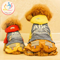 New Arrival warm Winter Puppy Dog Clothes England style Pets coat straps slacks Jumpsuit small big