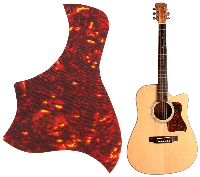 "Alice Flame Acoustic Guitar Pickguard Sticker For Guitar Pick Guard Size 40"" 41"" 42"" Guitarra(China (Mainland))"