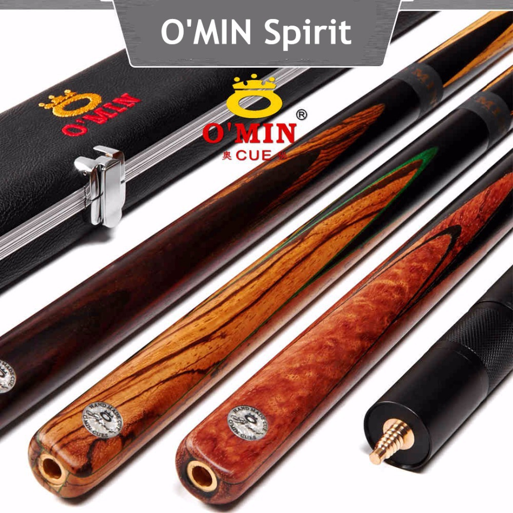 OMIN Spirit snooker cues,one piece cue,145cm,ash wood,snooker stick,billiard pool cue,free shipping by DHL,e-EMS,FEDEX(China (Mainland))
