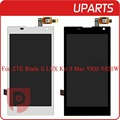 Original For ZTE Blade G Lux Kis 3 Max V830 V830W LCD Display Touch Screen Glass
