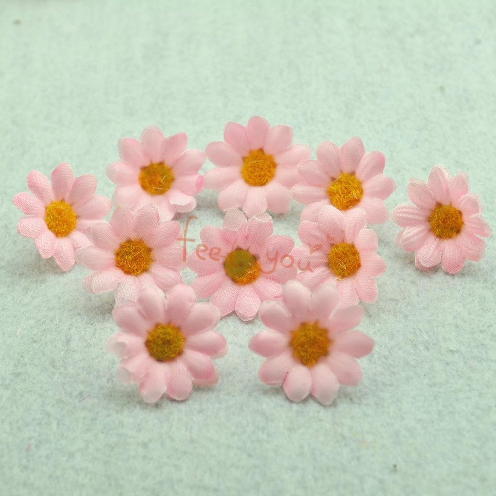 10 pcs artificial silk flower heads craft party home decor for Flower heads for crafts
