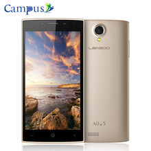 Original LEAGOO Alfa 5 Smartphone 5.0inch IPS HD 1280*720 Andriod 5.1 SC7731 Quad core 1.3GHz 1GB RAM 8GB ROM Dual SIM GPS WIFI