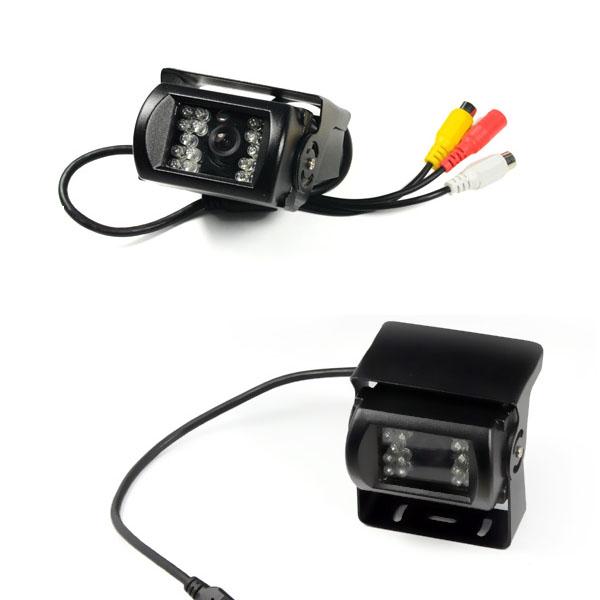 Bus & Truck Car 18 IR LED Reverse Night Vision Color CMOS Car Rear View Backup Parking Camera(China (Mainland))