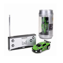 Buy Hot Sale 20KM/H Coke Can Mini RC Car Radio Remote Control Micro Racing Car 4 Frequencies for $6.89 in AliExpress store