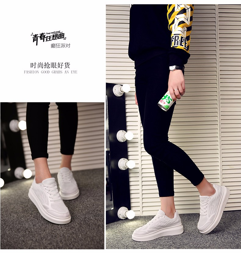 2016 Slimming Shoes Women Fashion Leather Casual Flats Women Fitness Lady Swing Sport Women Outdoor Walking Shoe Summer Trainers