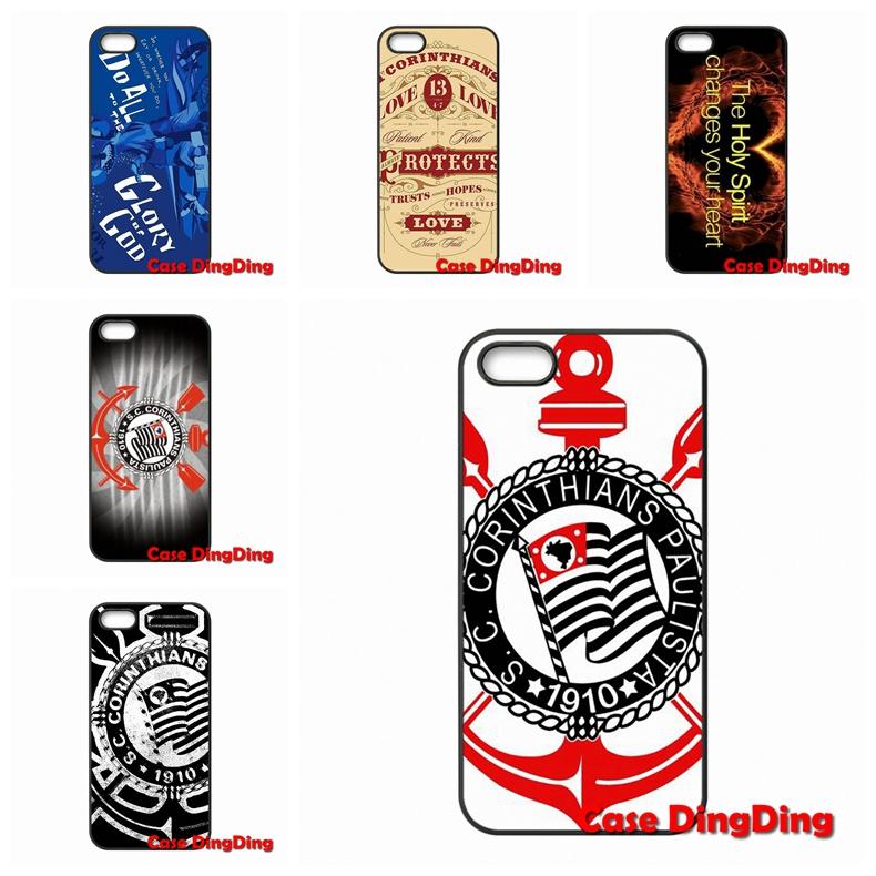 For Moto X1 X2 G1 E1 Razr D1 Razr D3 Apple iPod Touch 4 5 6 iPhone 4 4S 5 5C SE 6 6S Plus corinthians logo case Accessories(China (Mainland))