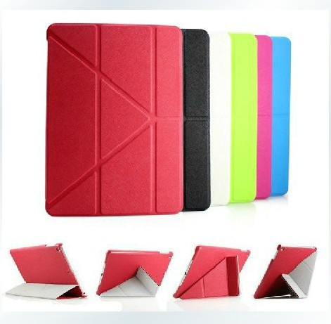 Fashion ultrathin Design 5 Shapes Magnetic Stand PU Leather case iPad Air 9.7'' Smart cover Smartcover Flip - ShenZhen HongTai Electronics CO.,LTD store
