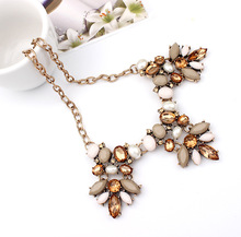 Vintage Kolye Boho Good Quality Hot Pendants Necklaces Gem Charm Brand Chain Maxi Necklace jewelry Lady