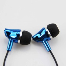 3.5mm Jack Noise Isolating Earphone Wired In-Ear Stereo Metal Headset Piston Earbuds Universal For Xiaomi IPhone Samsung S6 Mp3(China (Mainland))