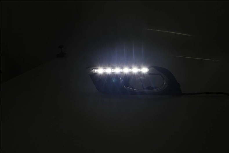 A&T car styling For Honda Civic LED DRL For Civic led daytime running light High brightness guide LED DRL A style
