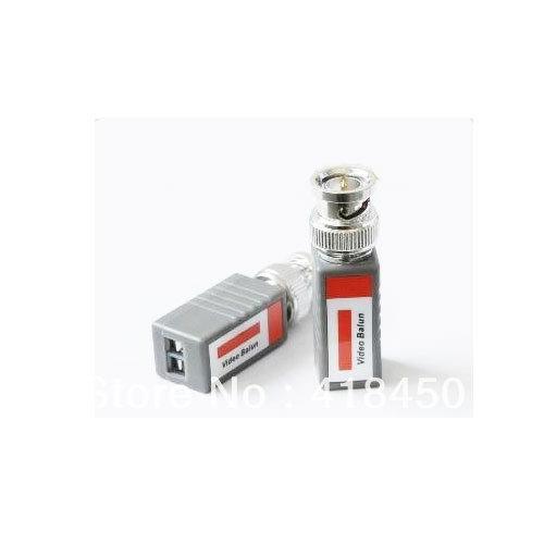 24 PAIRS (48pcs) Mini CCTV BNC Cat5 Cat5e Cat6 UTP Passive Video Balun Transceiver Up to 960 feet/300m