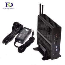 Buy Small computer Windows 10 intel NUC i7 5550U/5500U mini PC 2*LAN+2*HDMI+SPDIF+USB 3.0 WIFI WIFI Mini business desktop NC960 for $316.00 in AliExpress store