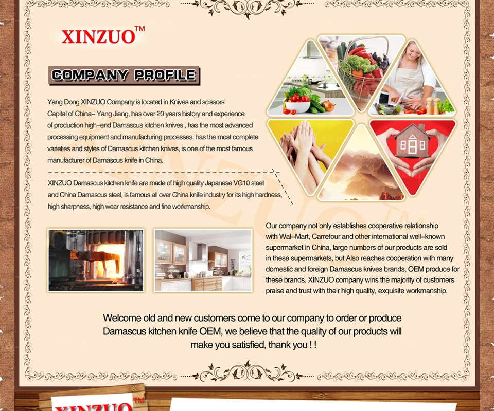 "Buy XINZUO 8 "" inch 73 layers cleaver knife Japan Damascus kitchen knife kithcen tool senior Sashimi knife wood handle free shipping cheap"