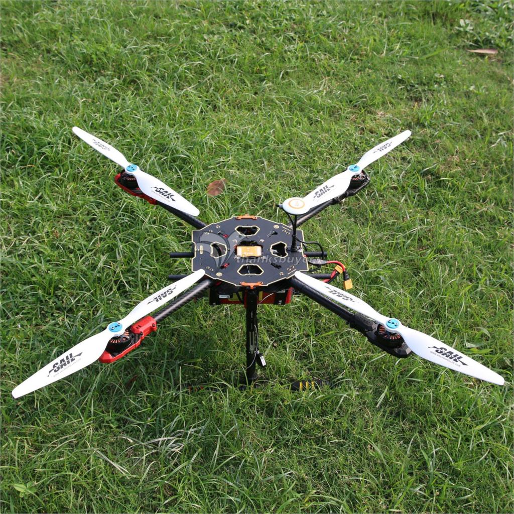 Tarot 650 Sport Quadcopter TL65S01 with SunnySky X4108S Motor & Hobbywing ESC & 1555 Wood Propeller for FPV Photography(China (Mainland))