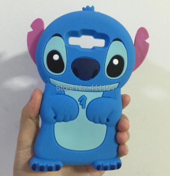 3D Cute Stitch Soft Silicone Rubber Cover Case Samsung Galaxy E7 - ALEX ZHOU Store store