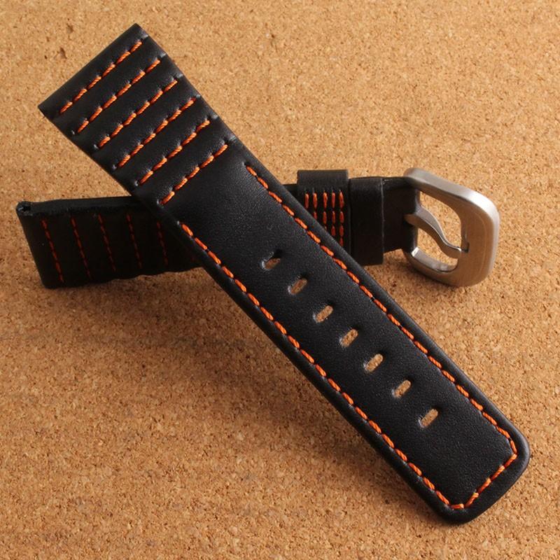 Новое прибытие замена ремешки Ремешки Для Наручных Часов 28 мм Для смарт-часы наручные группы браслет неподдельной кожи ремешки для наручных часов мода новый