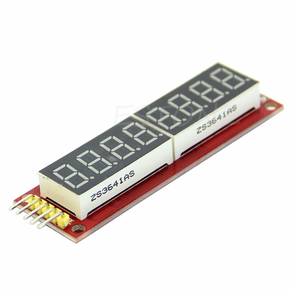 Red MAX7219 8-Digit LED Display Module Digital Tube for Arduino SPI Control(China (Mainland))