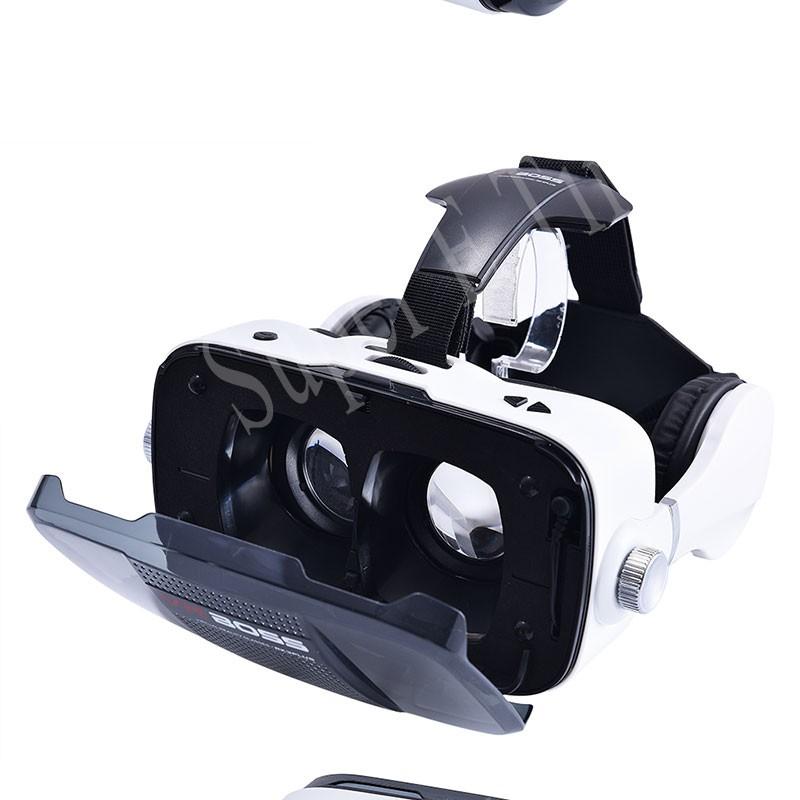 ถูก ที่มีคุณภาพสูงGoogle cardboarความจริงเสมือนโลก3Dแว่นตาZ5 VR BOSSป้องกันรังสีใช้4.7-6.0นิ้วมาร์ทโฟน