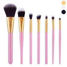 Paradise 2016 Hot 7Pcs Cosmetic Brush Makeup Brush Sets Kits Tools Free Shipping June16