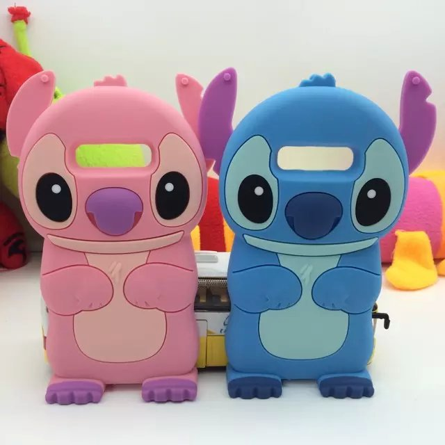 For Samsung Galaxy Grand Prime Silicone Case 3D Cartoon Stitch Cover For Samsung Galaxy Grand Prime G530H G530 Prime G530H G530(China (Mainland))