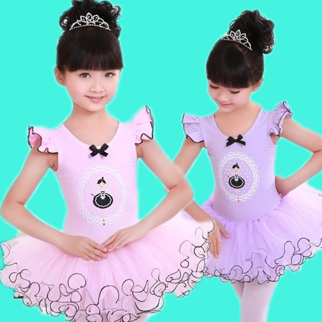 Girls Ballet Dress For Children Girl Dance Clothing Kids Ballet Dresses For Girls Dance Leotard Girl Dancewear Kids GymnasticsОдежда и ак�е��уары<br><br><br>Aliexpress