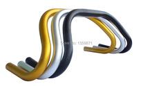 Road bike handlebar 25.4 * 22.2 * 420 mm aluminum bicycle colorful bent bar 332G free shipping