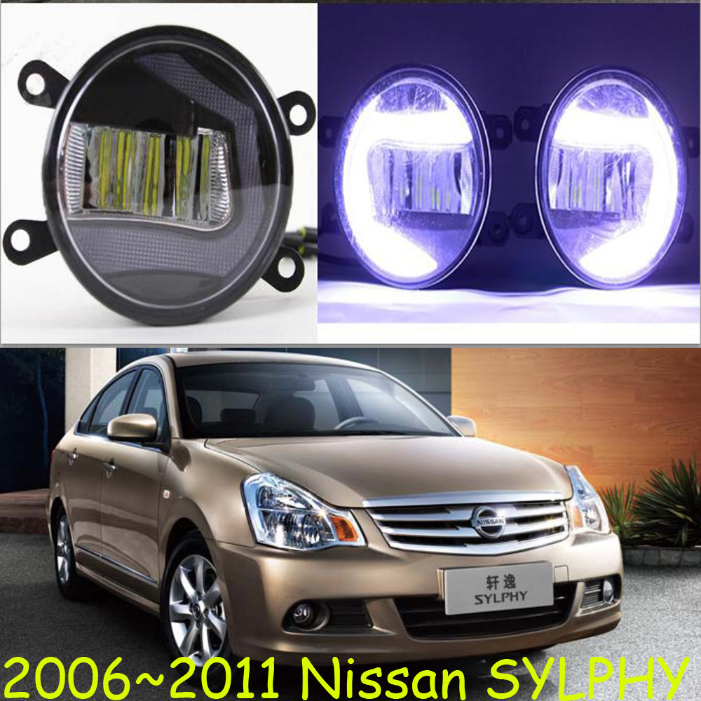 Osram LED fog light Cree Lamp Light Source Lighting Car 2006~2011 Styling Fog Lights for Sylphy Super Bright!<br><br>Aliexpress