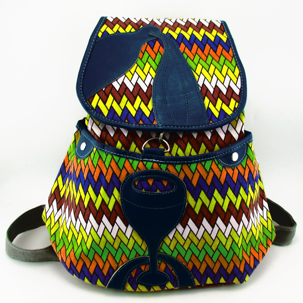 Tribal Vintage Hippie Ethnic Boho rucksack Boho hippie ethnic bag backpack bag full painting colorful SYS