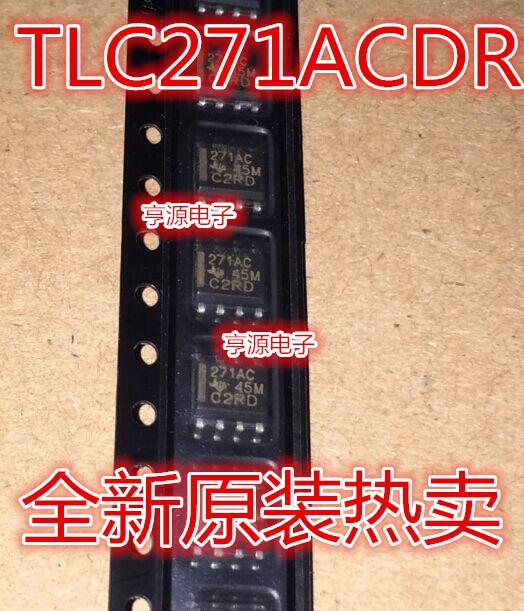 10pcs/TLC271AC SOP8 TI TLC271 CDR printing 271AC(China (Mainland))