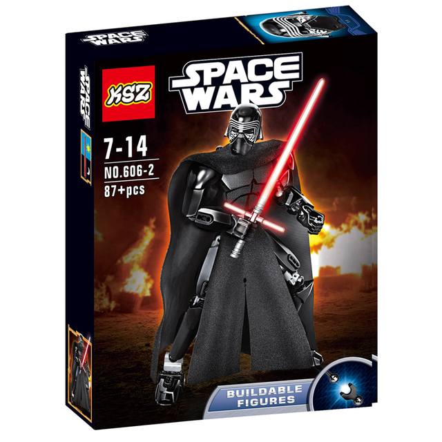 Star Wars Kylo Ren Building Blocks