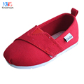 2017 New Kids Colorful Canvas Shoes Kindstraum Children Comfy Rubber Slip On Shoes Sneakers Girls Boys