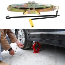 Car Accessories Tool Universal  Jack 1.0 Ton Hoist Compact Scissor Lift Jacks   Auto With Handle(China (Mainland))