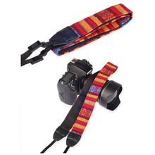 New Shipping Photo Studio Accessories Multi Color Stripe Camera Neck 207# Straps Belt Grip for All Ca-non Ni-on J442