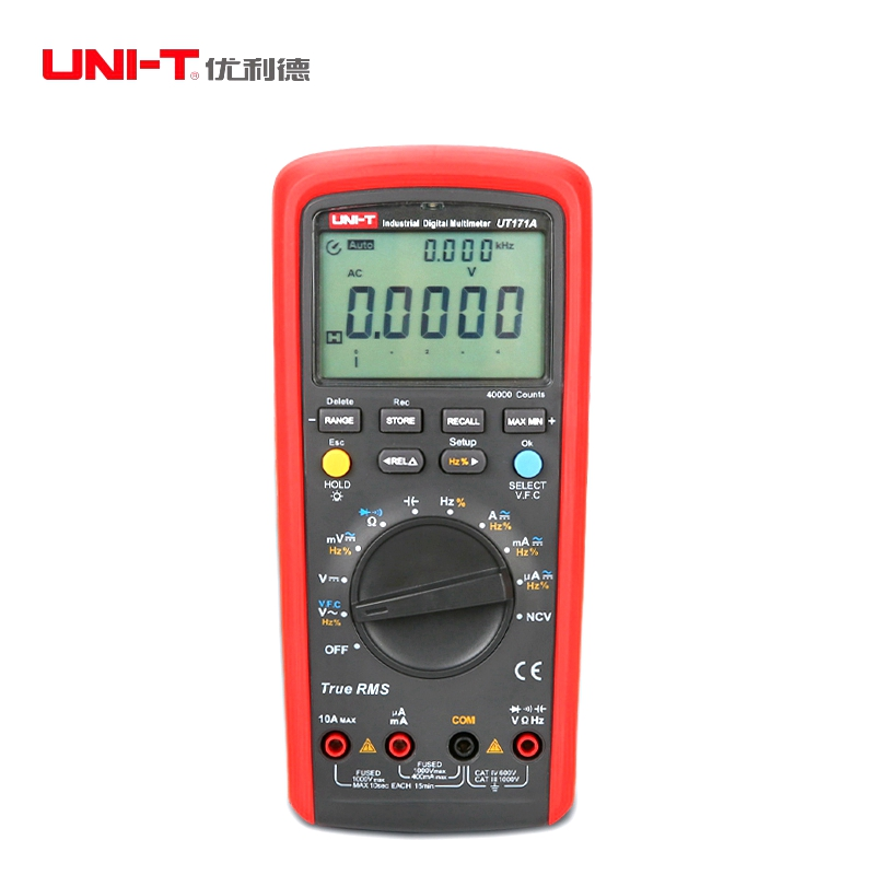 UNI-T UT171A Industrial True RMS Digital Multimeters AC DC Current Voltage Resistance Capacitance Frequence Multi Testers<br><br>Aliexpress