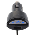 Free Shipping Cigarette lighter with line car bluetooth USB charging HIFI car Bluetooth music adapter ME3L