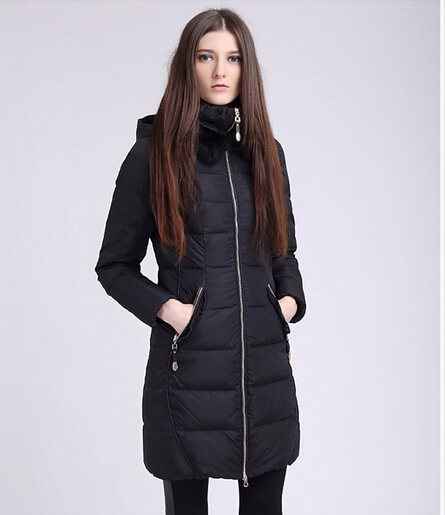 2014 Winter New Womens Long White Duck Down Jackets and Coats Hooded Parkas Woman Red/Yellow Free Shipping 9006Одежда и ак�е��уары<br><br><br>Aliexpress