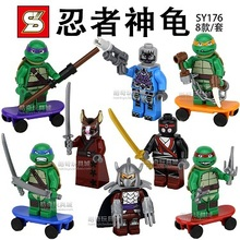SY176 Building Blocks Super Heroes Avengers 2 Justice League Teenage Mutant Ninja Turtles TMNT Minifigures Compatible With Lego(China (Mainland))