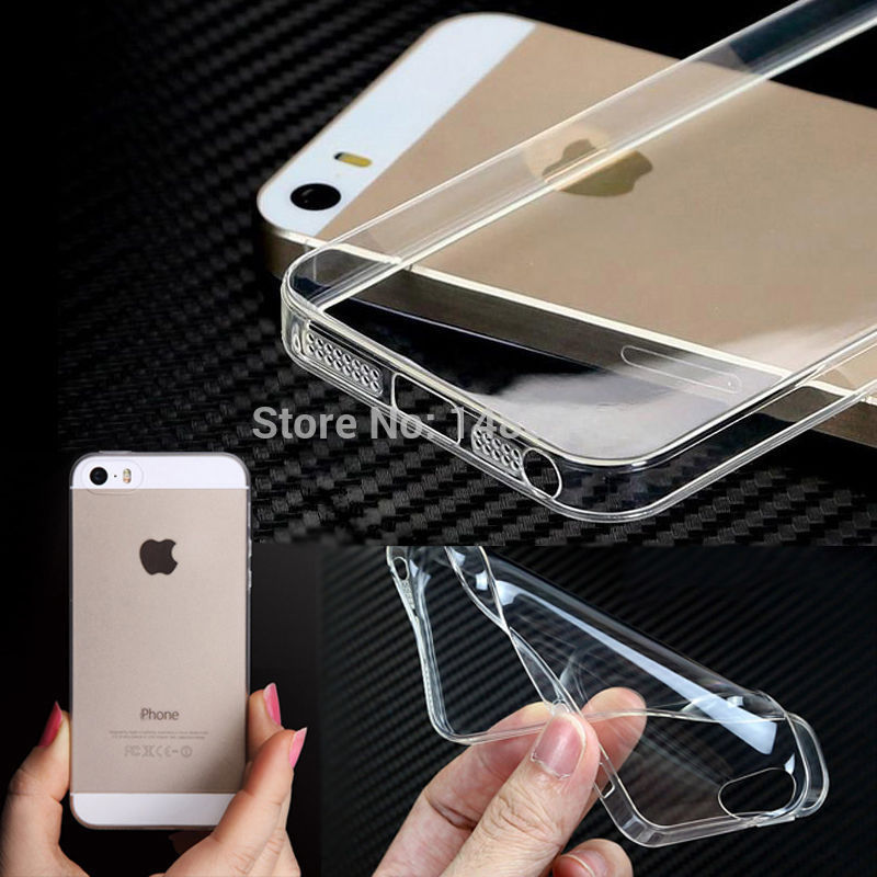 2016 Original crystal clear Ultra thin slim 0.3mm Silicone soft TPU Case for iPhone 4 4S 5 5S 6 6s 6 Plus back cover skin phone(China (Mainland))