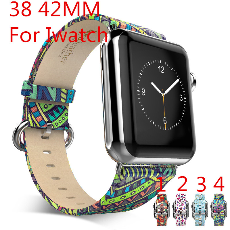 2016 New Fashion Personality 38mm 42mm Apple Watch Strap Leather Watchband Iwatch connector for apple Watch,Free Shiping<br><br>Aliexpress
