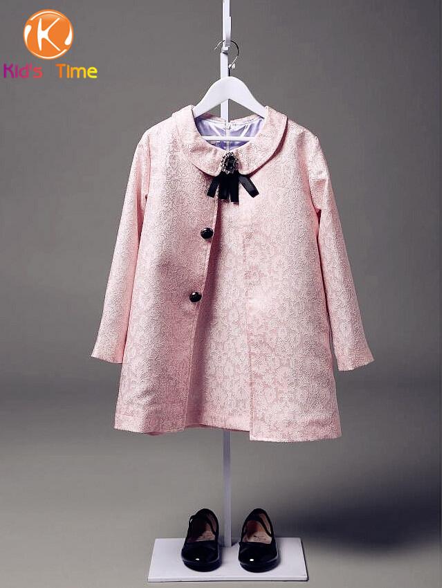 High End 2015 New DesignerNewest Autumn&Winter Girls Coat