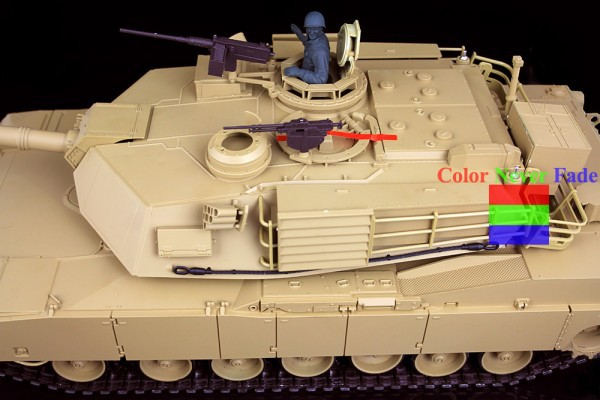 HengLong 1/16 U.S.A M1A2 RC Tank Upgraded Metal version Simulate Sound With Smog 3918-1(China (Mainland))