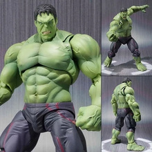 Incredible Hulk Iron Man Hulk Buster Avengers SHF Age Of Ultron 16CM PVC Toys Action Figure Hulk Smash