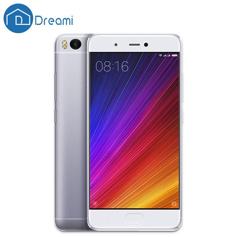 Dreami Original Xiaomi Mi 5s 3GB RAM 64GB ROM Snapdragon 821 Quad Core 5.15 Inch Mi5s Ultrasonic Fingerprint Mi5 s Cellphone