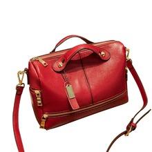 2016 Genuine Leather Handbags Designer Women Messenger Bags Shoulder women leather handbags bolsa feminina Lady's Bag hot J257
