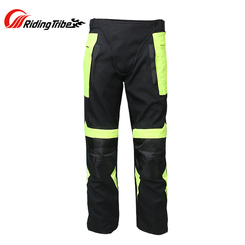 Riding Tribe Men Motocross Off-Road Pants Removable Protector Gear Liner Street Racing Windproof Motorcycle Trousers - Top-touch Technology Co.,Ltd store